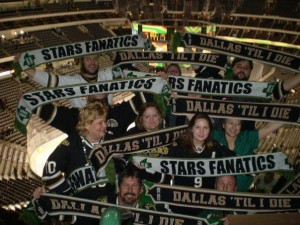 Stars Fanatics Scarves in 332