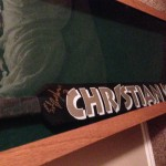 Ed Belfour Stick in Display Case