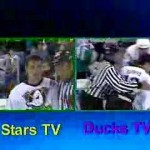 Stars vs Ducks March 13 1998